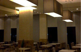 THE ZENITH HOTEL convention space lighting