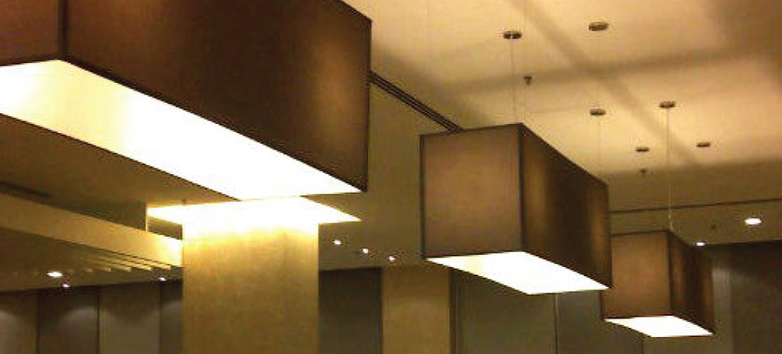 THE ZENITH HOTEL hanging lights