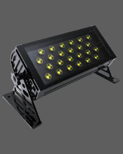 Long black ground outdoor landscape light