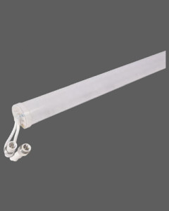 White outdoor landscape light