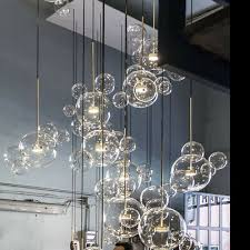 Chandelier types: glass chandelier