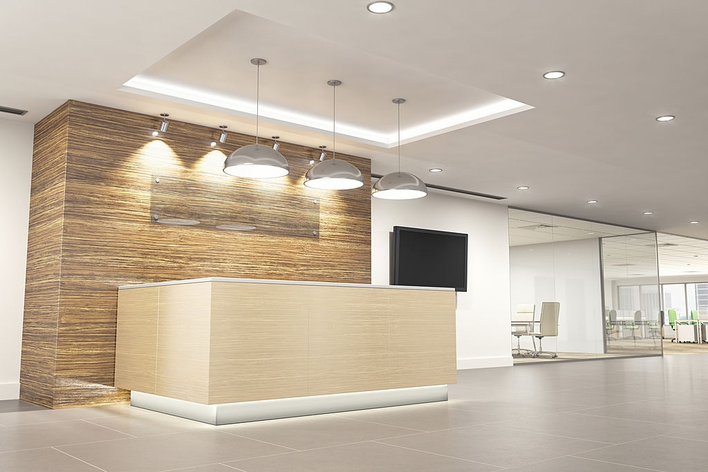 choosing lights for office space