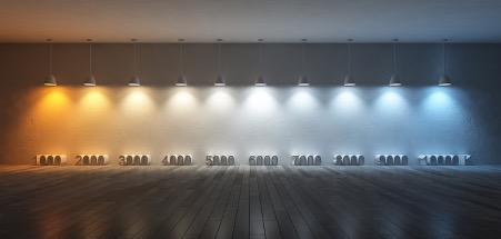 colour temperature bulb comparison